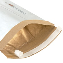 White Self-Seal Padded Mailers